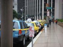 Cabs Waiting inthe Rain - m