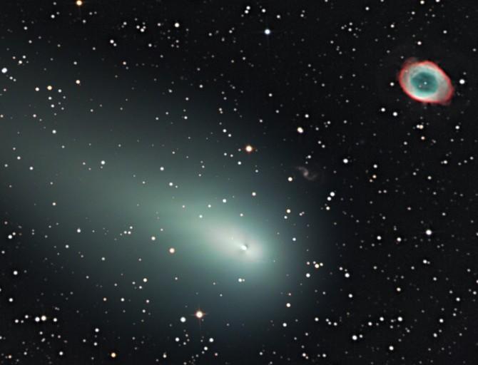 Comet Galaxy And Ring Nebula Thus Spoke Jon