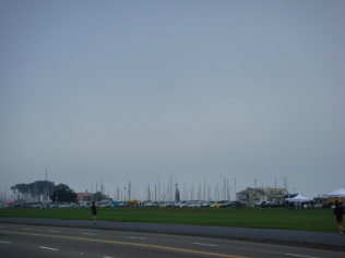 The thing about this photo is that if the fog wasnt there, you would see the Golden Gate Bridge taking up the background
