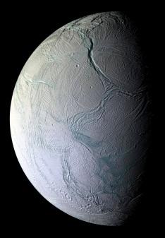 Enceladus closeup