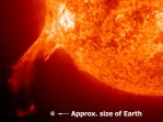 Erupting Solar Prominence
