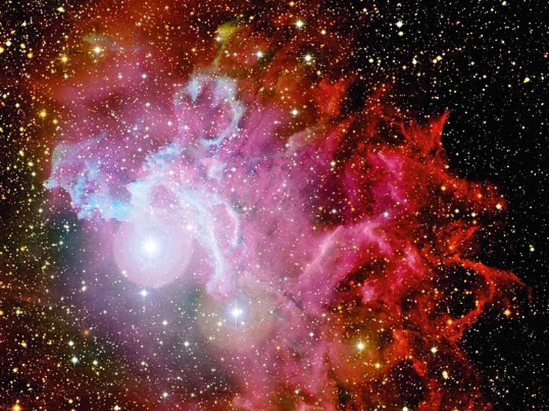nebula space dust star - photo #43