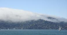 Fog Blanketing Sausalito - cm