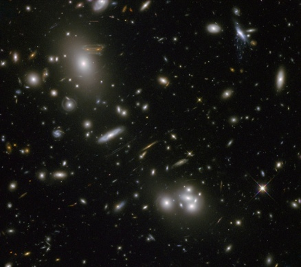 Galaxy Cluster Abell 68 - This is one of my favorite pictures because of the explanation here http://apod.nasa.gov/apod/ap130308.html