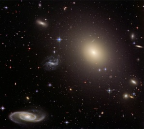 Galaxy Cluster - Abell S0740