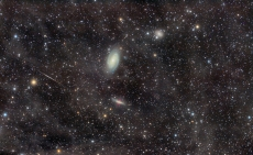 Galaxy Group - M81 Galaxy Group Through the Integrated Flux Nebula