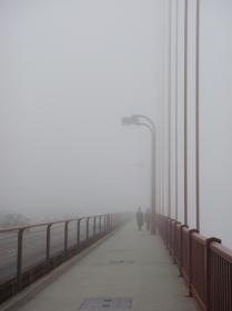 GGB in the Fog - m