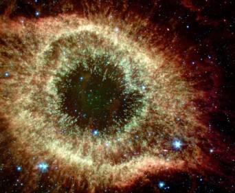 Helix Nebula - infrared
