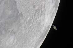 Lunar Eclipse of Saturn