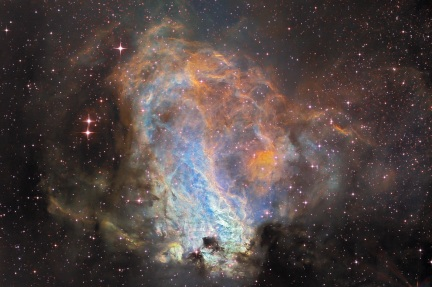 M17 Nebula - a star factory