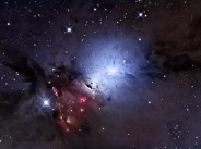 NGC 1333 - a reflection nebula and space dust