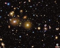 Perseus Cluster of Galaxies - 2