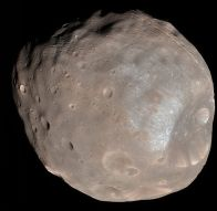 Phobos - One of Mars' two moons