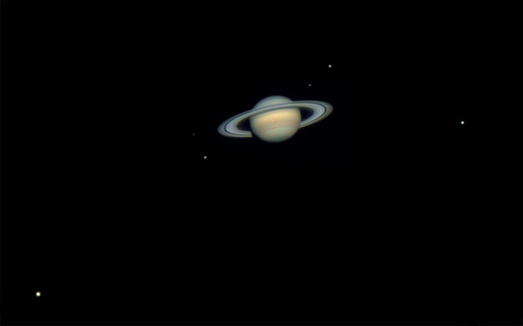 saturn moons and rings - photo #13