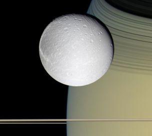 Saturn - Dione - Ringside