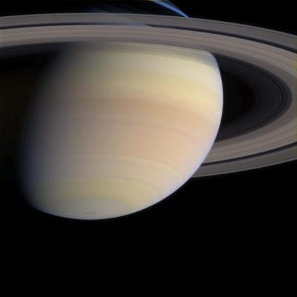Saturn with Color