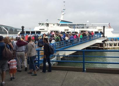 San Francisco Ferry commuters