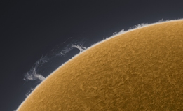 Solar Prominence April 2, 2010