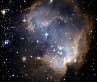 NGC 602 star factory and Galaxies Beyond