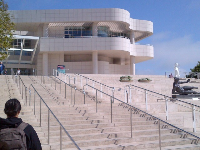 Getty Museum - 1 - Entrance