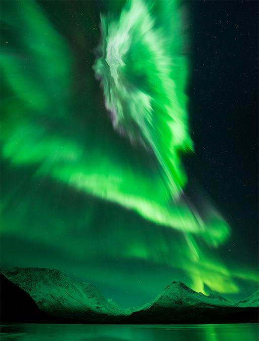 northern lights comet - photo #26
