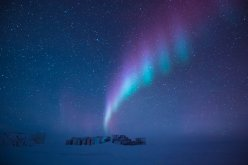 Aurora over Antarctica - Photo courtesy of the European Space Agency