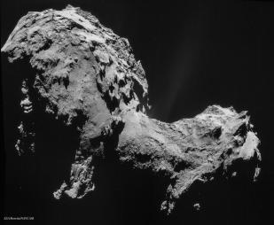 Comet 67P from a distance of 28.6 km
