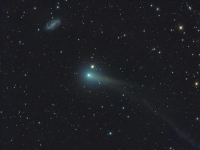 Comet PanSTARRS (with Galaxy) - from NASA's APOD - http://apod.nasa.gov/apod/ap140606.html