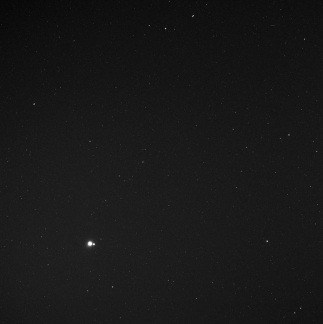 Earth and Moon seen from Mercury - 114 million miles away May 6, 2010
