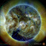 Magnetic Field Lines on the Sun