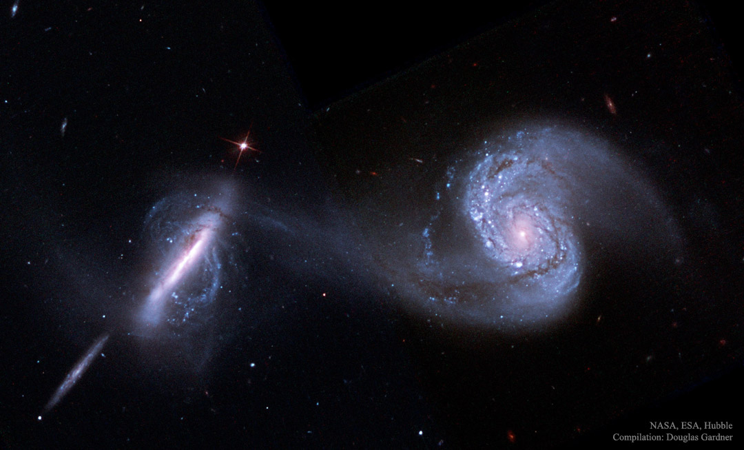 Galaxies In Collision Thus Spoke Jon