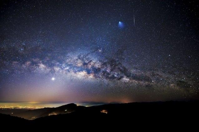 Milky Way over Thailand