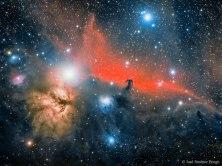 The Horsehead Nebula and surrounding stuff - from http://apod.nasa.gov/apod/ap151216.html