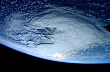 Weather - taken from the International Space Stationby Sam Cristoforetti