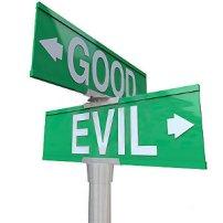 Good Evil Sign